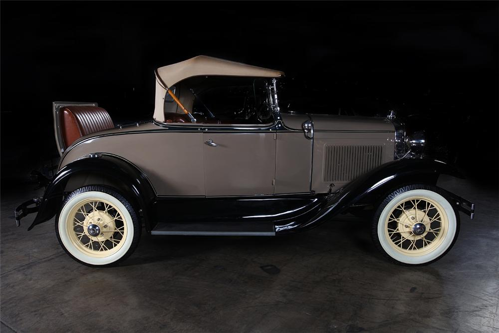 1931 FORD MODEL A ROADSTER - Side Profile - 162295