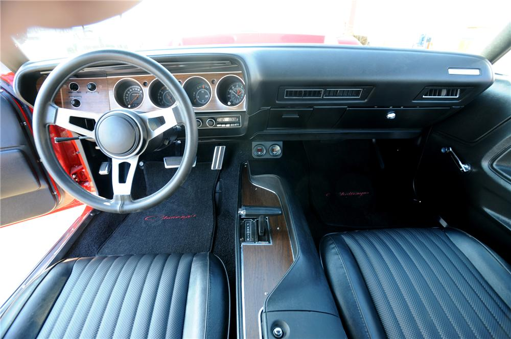 1973 DODGE CHALLENGER CUSTOM 2 DOOR HARDTOP - Interior - 162297