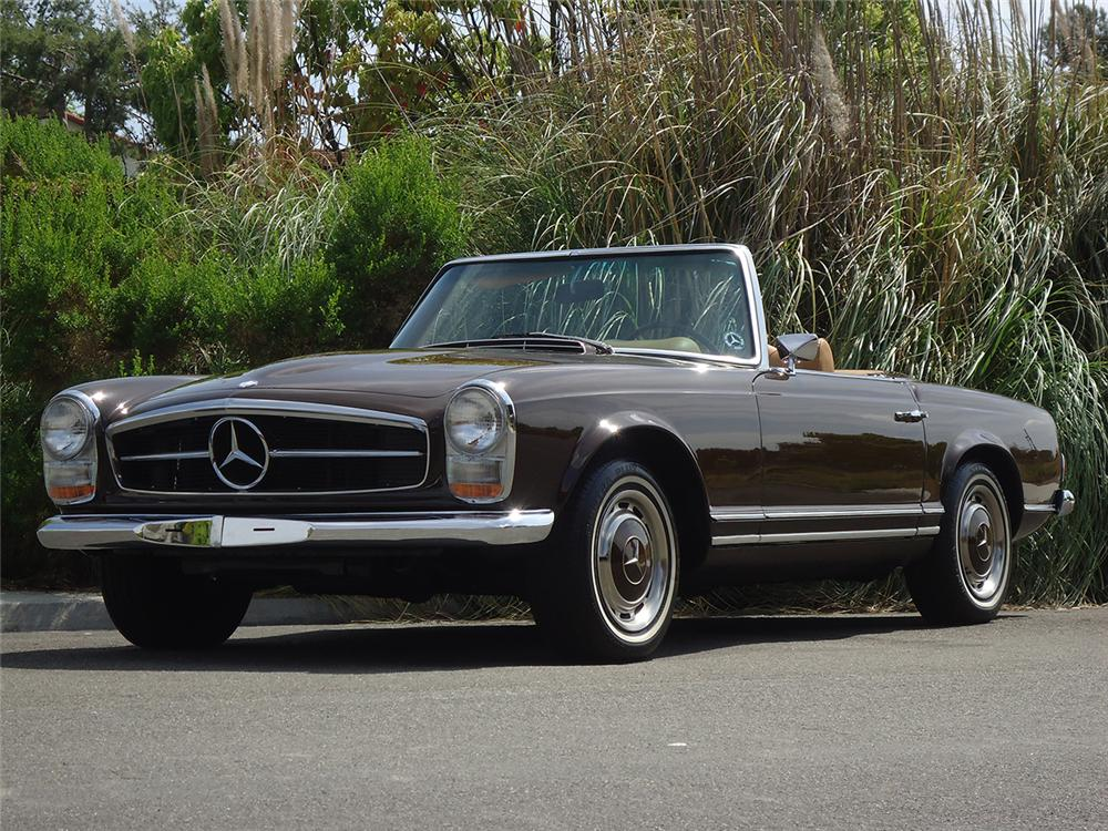 1969 mercedes benz 280sl convertible 162302. Black Bedroom Furniture Sets. Home Design Ideas