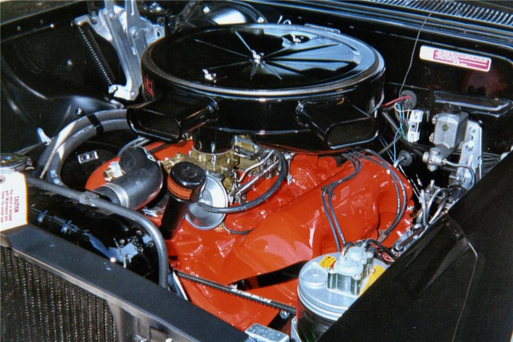 1958 CHEVROLET IMPALA CONVERTIBLE - Engine - 162306