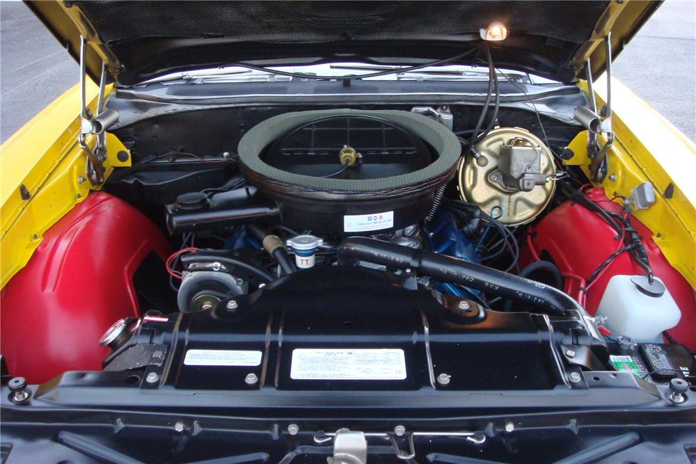 1971 OLDSMOBILE 442 W30 CONVERTIBLE - Engine - 162308