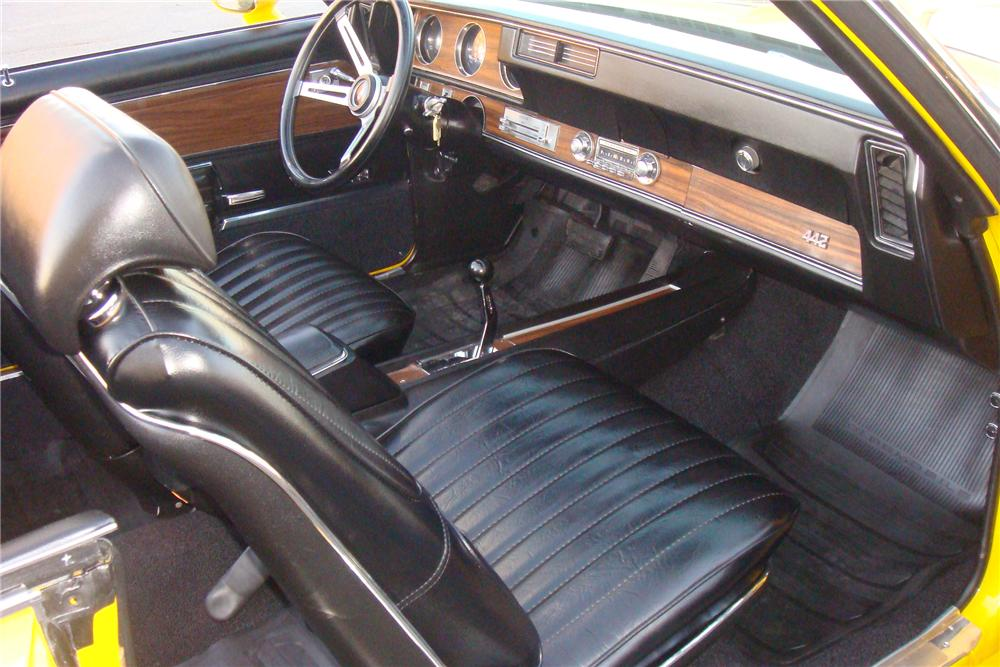 1971 OLDSMOBILE 442 W30 CONVERTIBLE - Interior - 162308