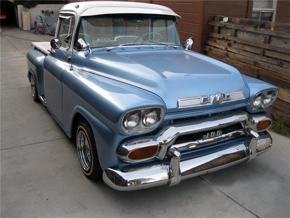 1958 GMC CUSTOM PICKUP - Front 3/4 - 162316