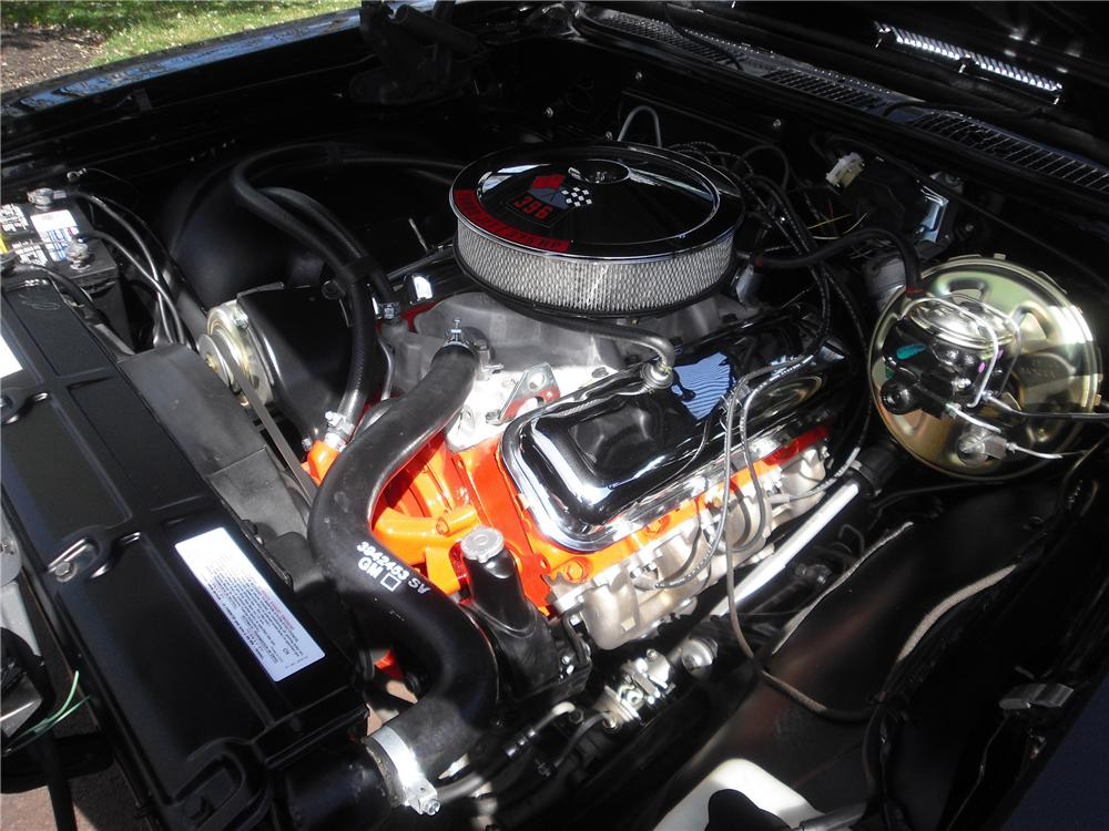 1969 CHEVROLET CHEVELLE SS 396 2 DOOR COUPE - Engine - 162322