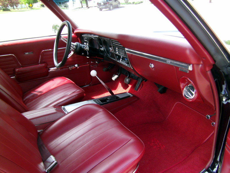 1969 CHEVROLET CHEVELLE SS 396 2 DOOR COUPE - Interior - 162322