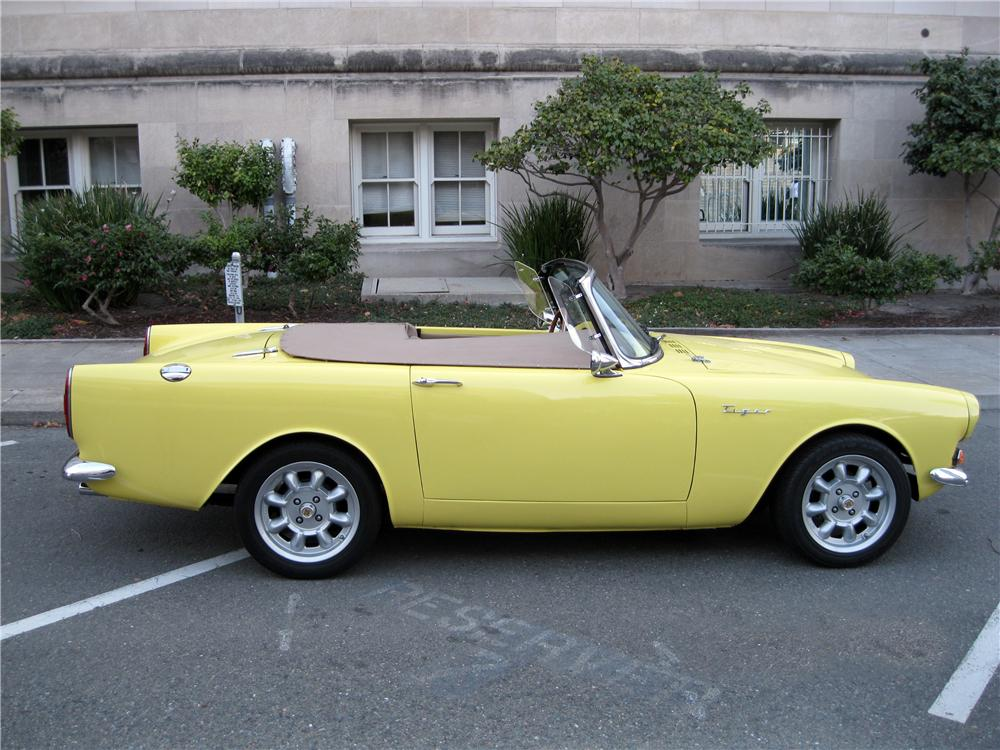 1967 SUNBEAM TIGER ROADSTER - Side Profile - 162326