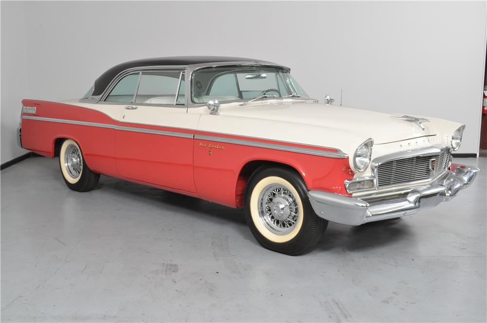 1956 CHRYSLER NEW YORKER 2 DOOR HARDTOP - Front 3/4 - 162328