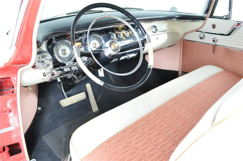 1956 CHRYSLER NEW YORKER 2 DOOR HARDTOP - Interior - 162328