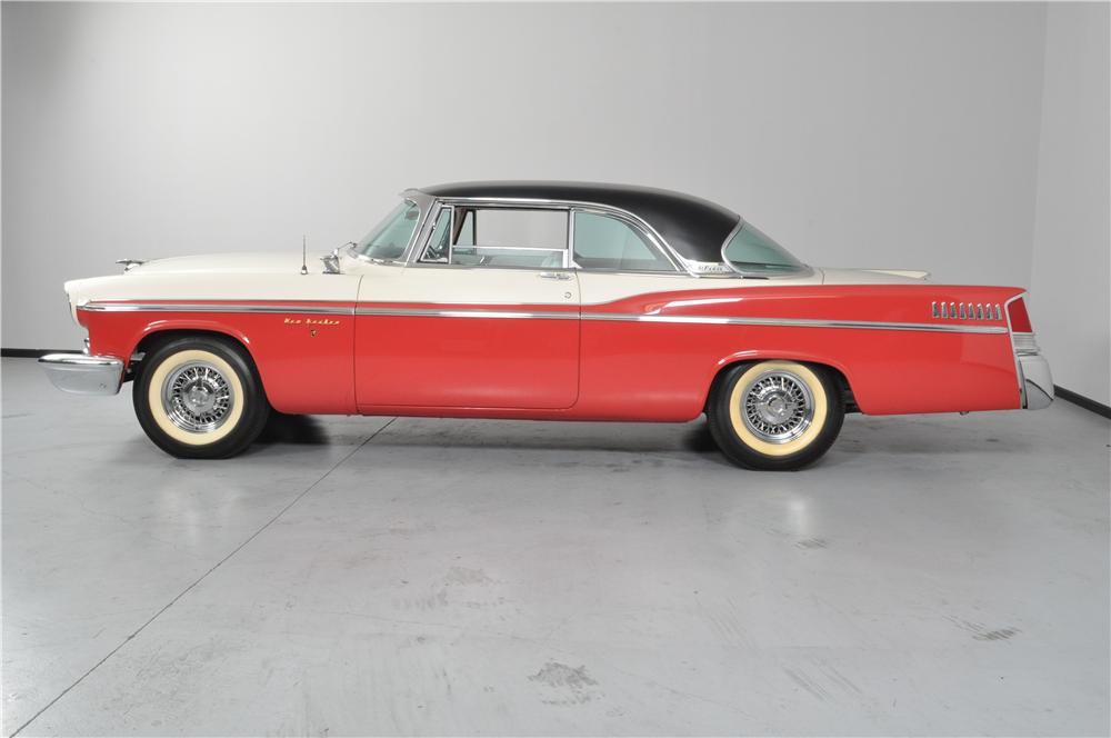 1956 CHRYSLER NEW YORKER 2 DOOR HARDTOP - Side Profile - 162328