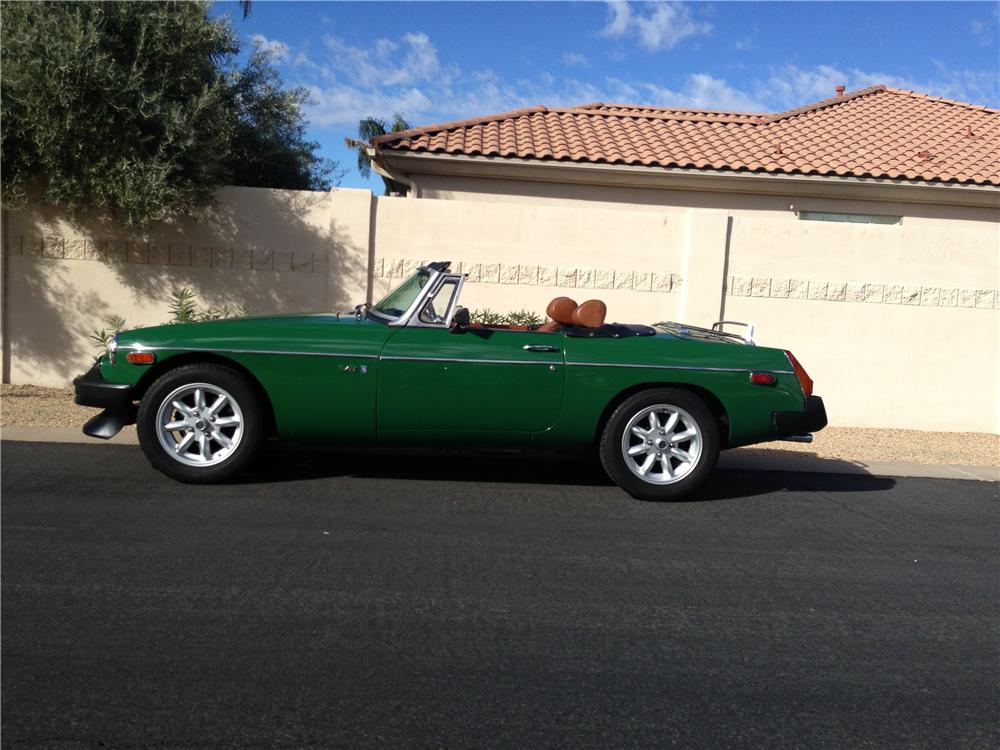 1974 MG B CUSTOM CONVERTIBLE - Side Profile - 162331
