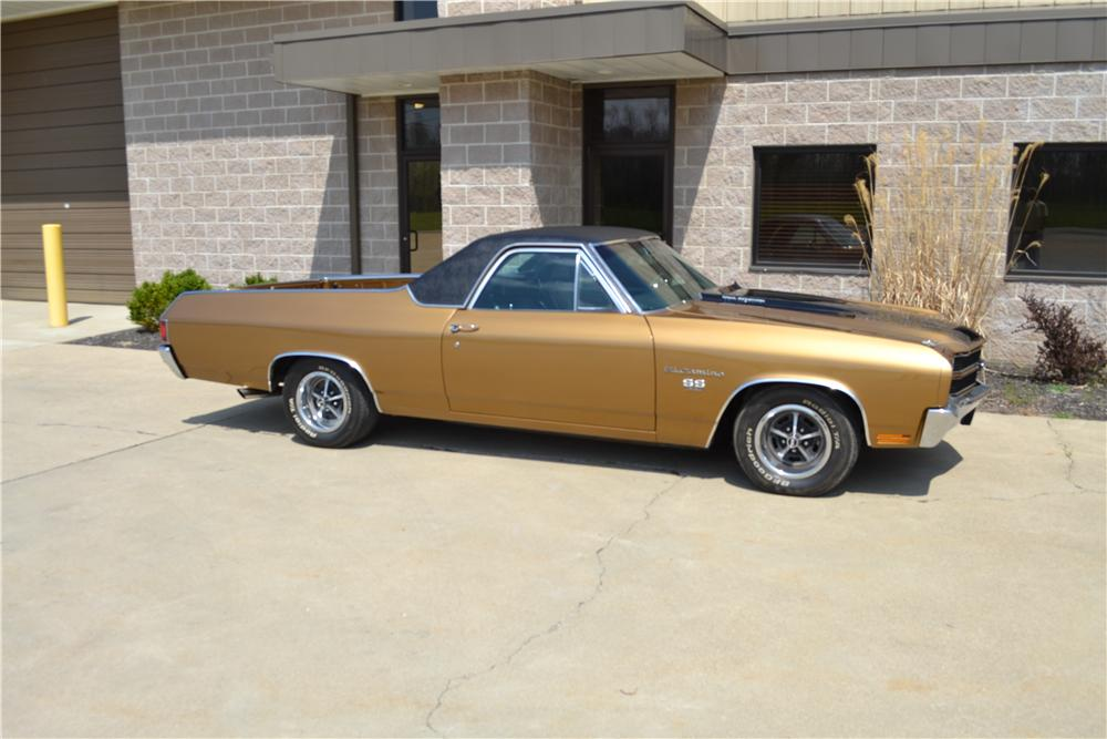 1970 CHEVROLET EL CAMINO SS PICKUP - Side Profile - 162333