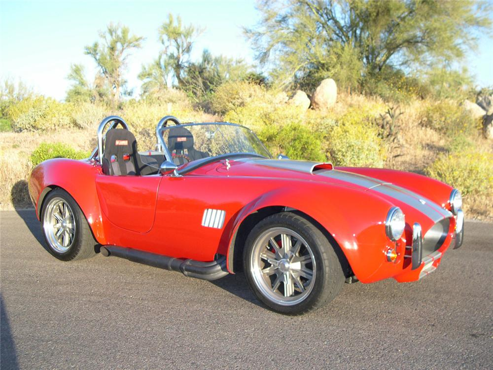 1965 FACTORY FIVE SHELBY COBRA RE-CREATION ROADSTER - Front 3/4 - 162342
