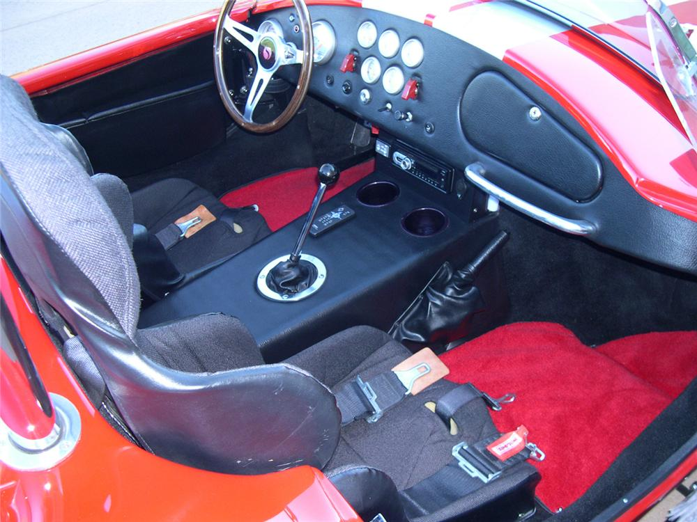 1965 FACTORY FIVE SHELBY COBRA RE-CREATION ROADSTER - Interior - 162342