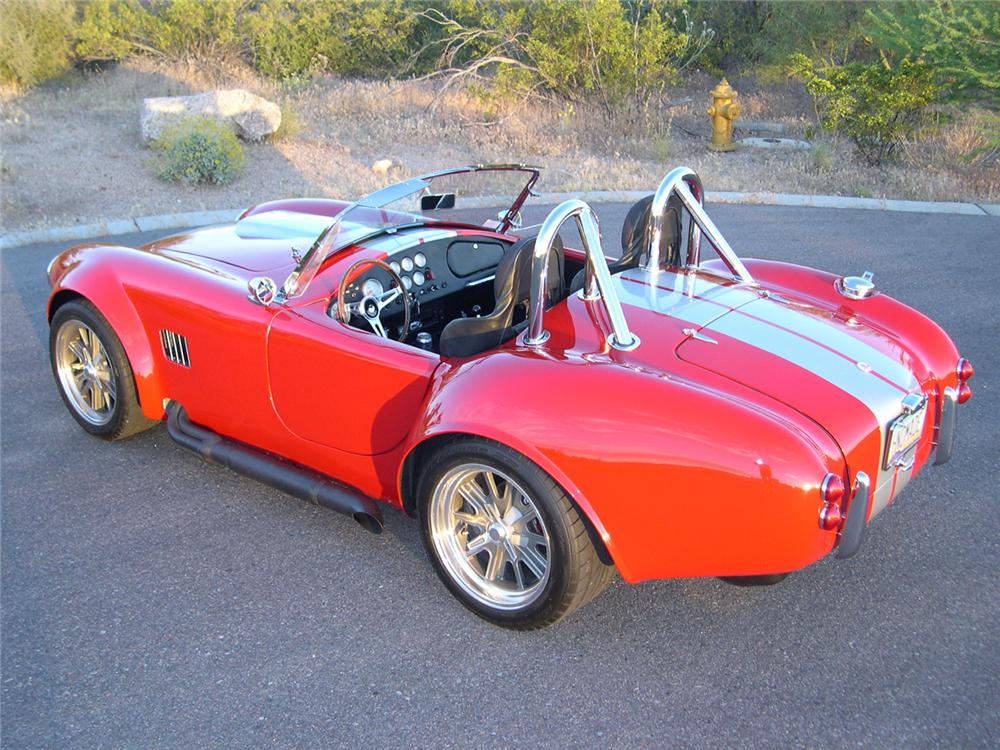 1965 FACTORY FIVE SHELBY COBRA RE-CREATION ROADSTER - Rear 3/4 - 162342