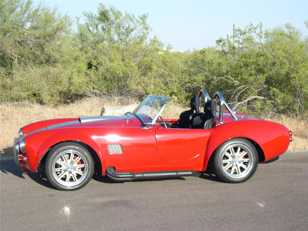 1965 FACTORY FIVE SHELBY COBRA RE-CREATION ROADSTER - Side Profile - 162342