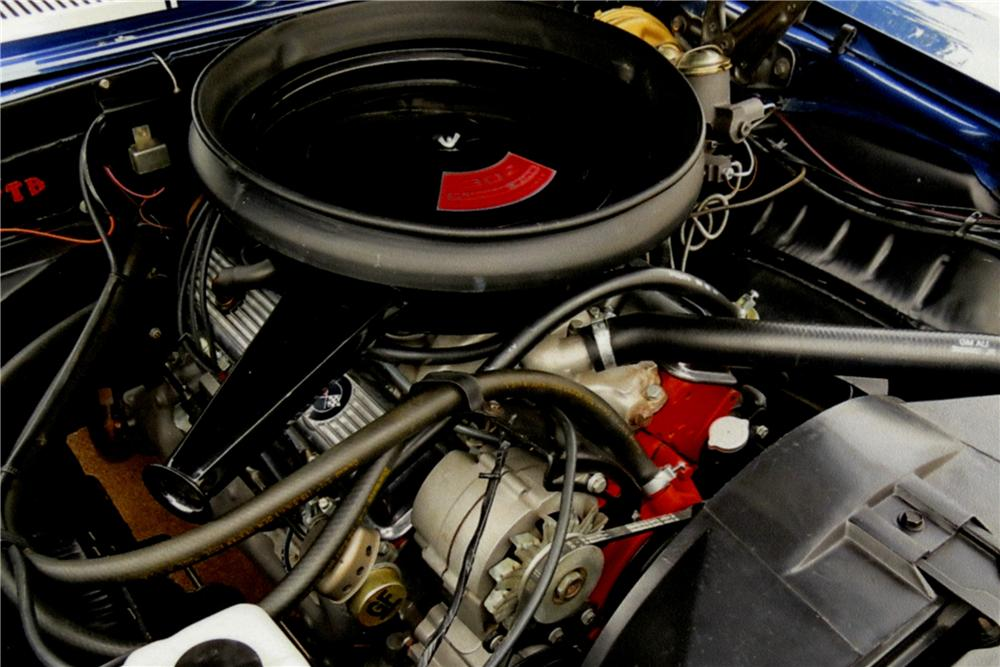 1969 CHEVROLET CAMARO Z/28 2 DOOR COUPE - Engine - 162347