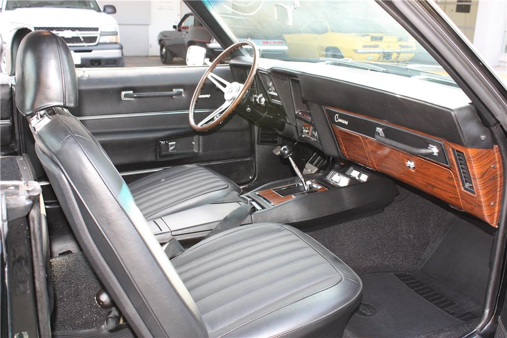 1969 CHEVROLET CAMARO ZL1 COUPE COPO RE-CREATION - Interior - 162358