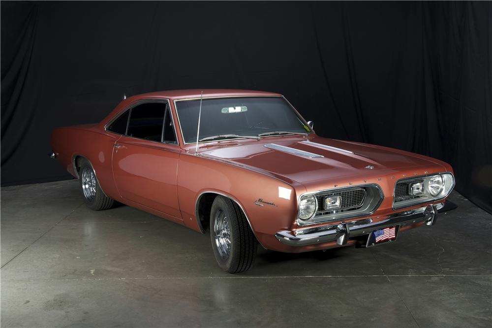 1967 PLYMOUTH BARRACUDA 2 DOOR SPORT COUPE - Side Profile - 162362