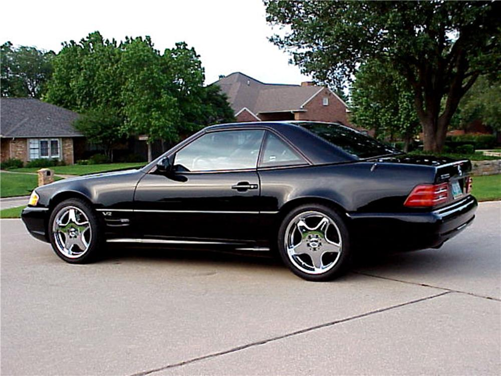1995 MERCEDES-BENZ SL600 CONVERTIBLE - Side Profile - 162365