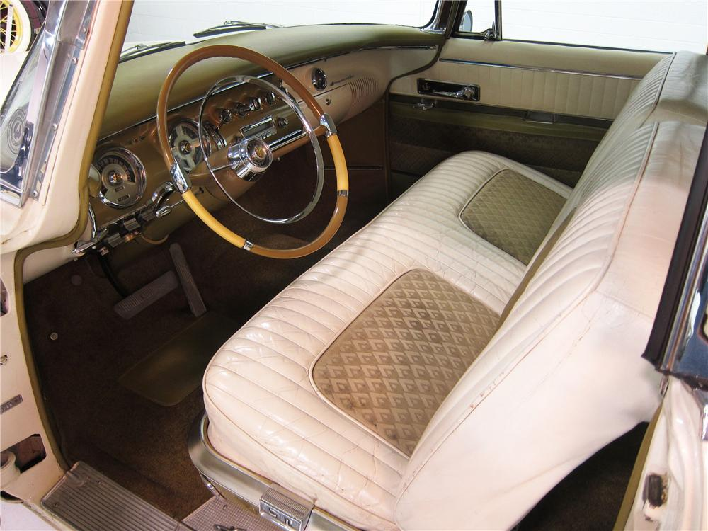 1955 CHRYSLER IMPERIAL 2 DOOR HARDTOP - Interior - 162373
