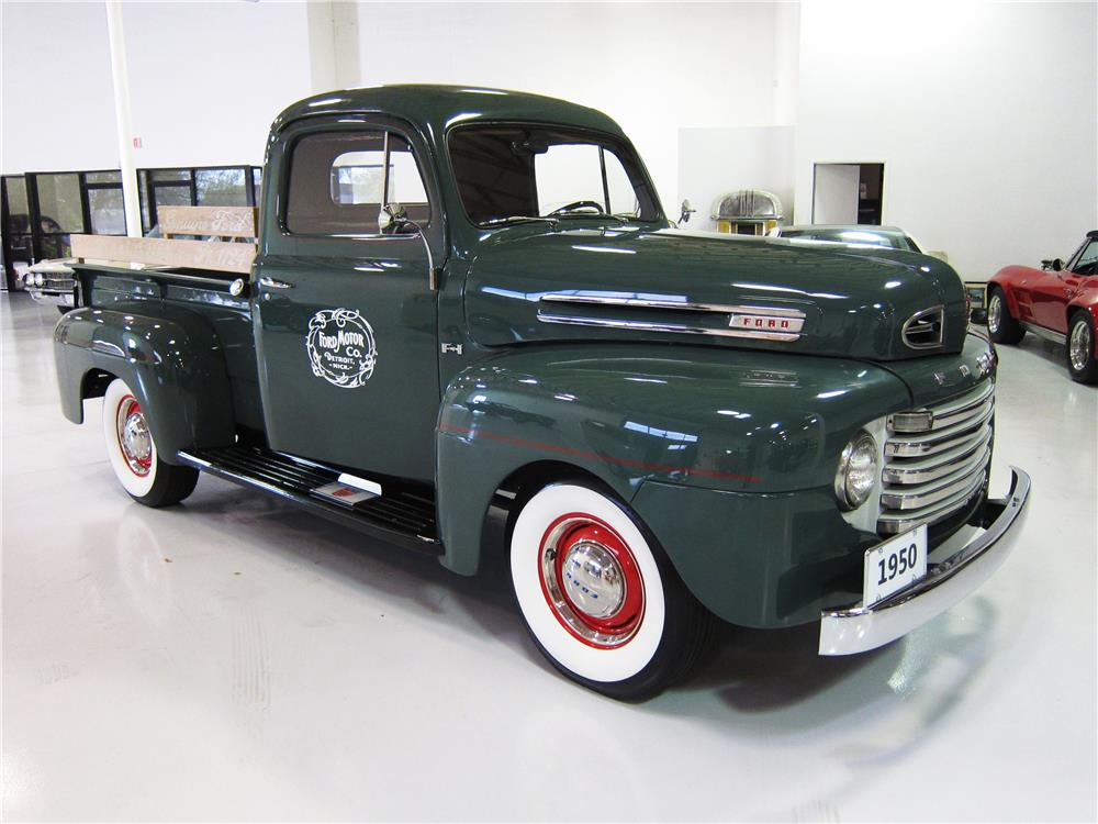 1950 FORD F-1 PICKUP - Front 3/4 - 162375