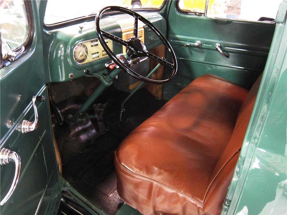 1950 FORD F-1 PICKUP - Interior - 162375