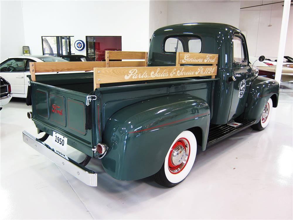 1950 FORD F-1 PICKUP - Rear 3/4 - 162375