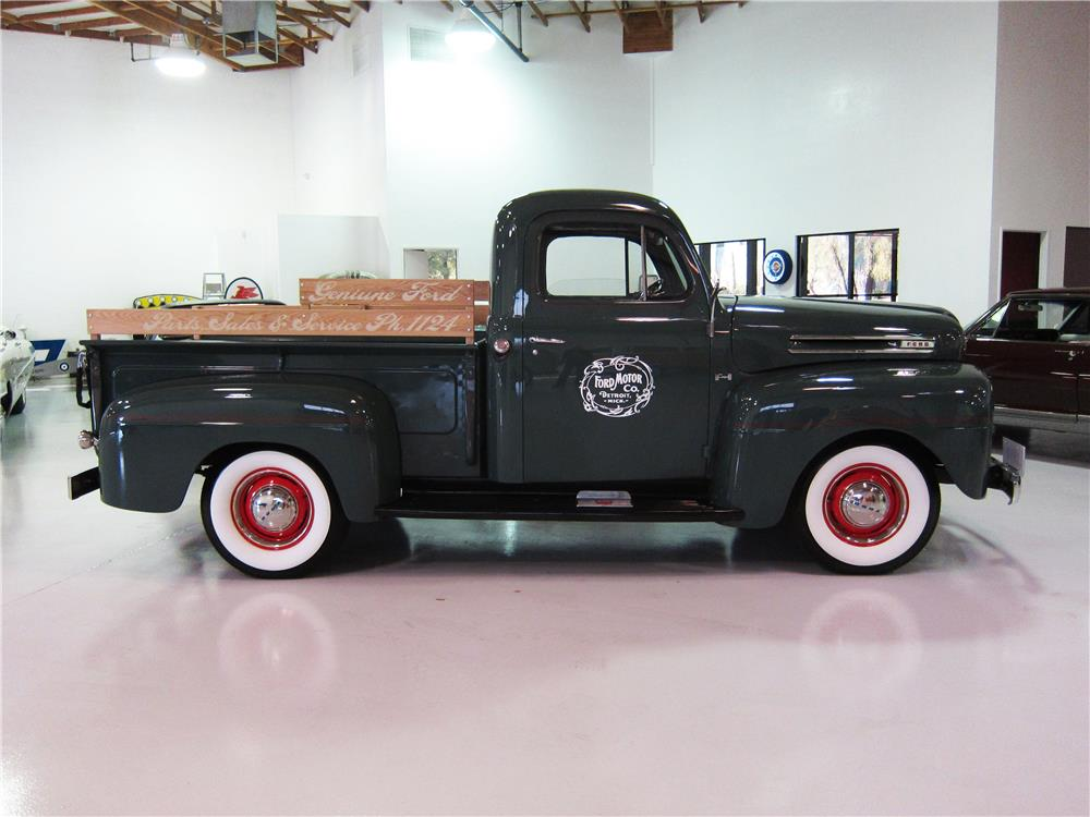 1950 FORD F-1 PICKUP - Side Profile - 162375