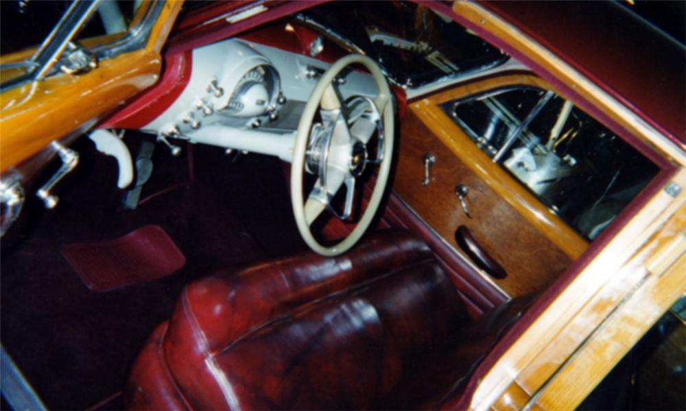 1949 OLDSMOBILE WOODY WAGON - Interior - 16238
