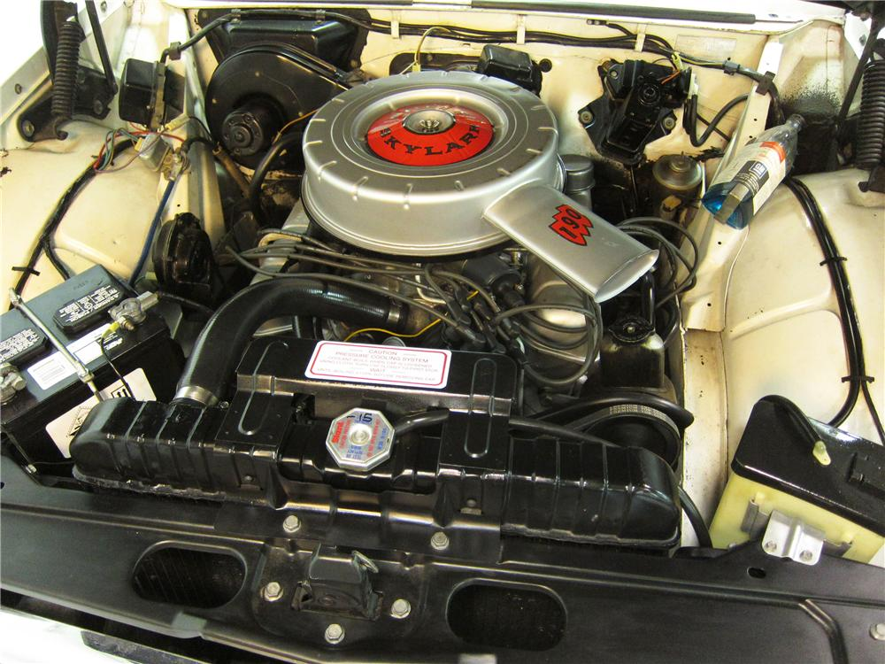 1962 BUICK SKYLARK 2 DOOR COUPE - Engine - 162381