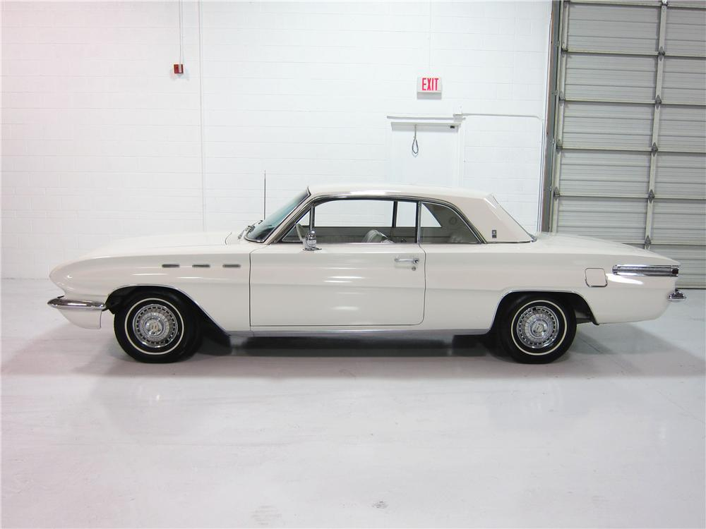1962 BUICK SKYLARK 2 DOOR COUPE - Side Profile - 162381