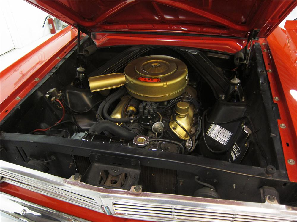1965 FORD FALCON 2 DOOR COUPE - Engine - 162382