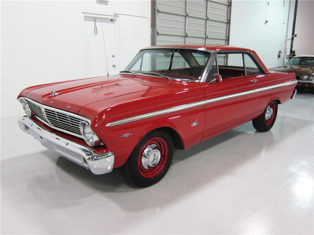 1965 FORD FALCON 2 DOOR COUPE - Front 3/4 - 162382