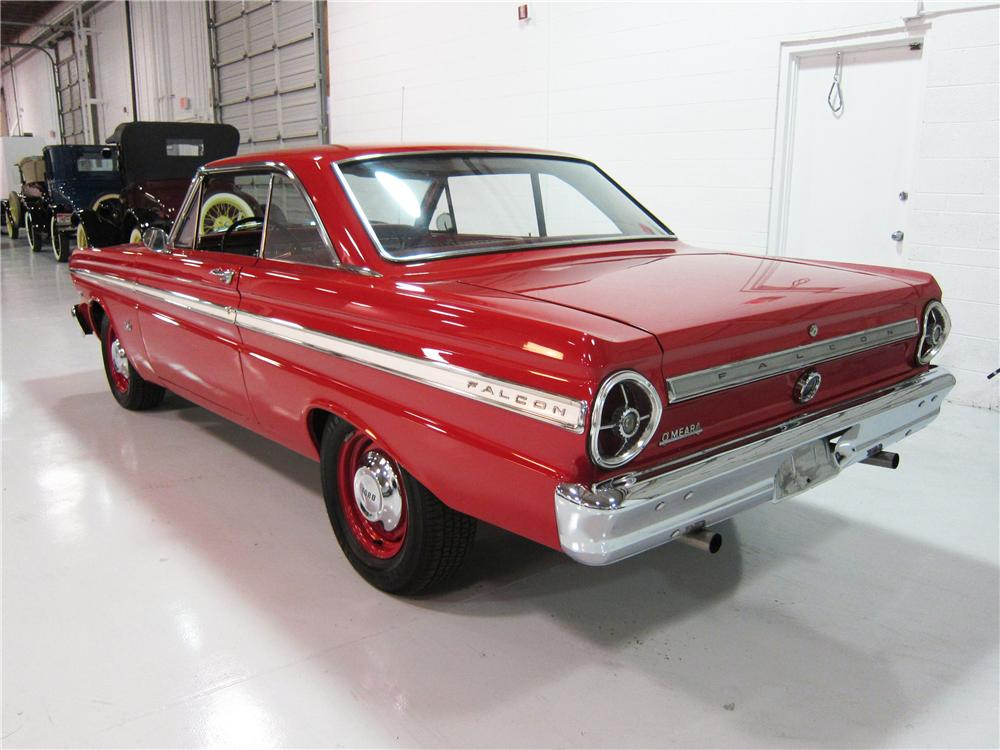 1965 FORD FALCON 2 DOOR COUPE - Rear 3/4 - 162382