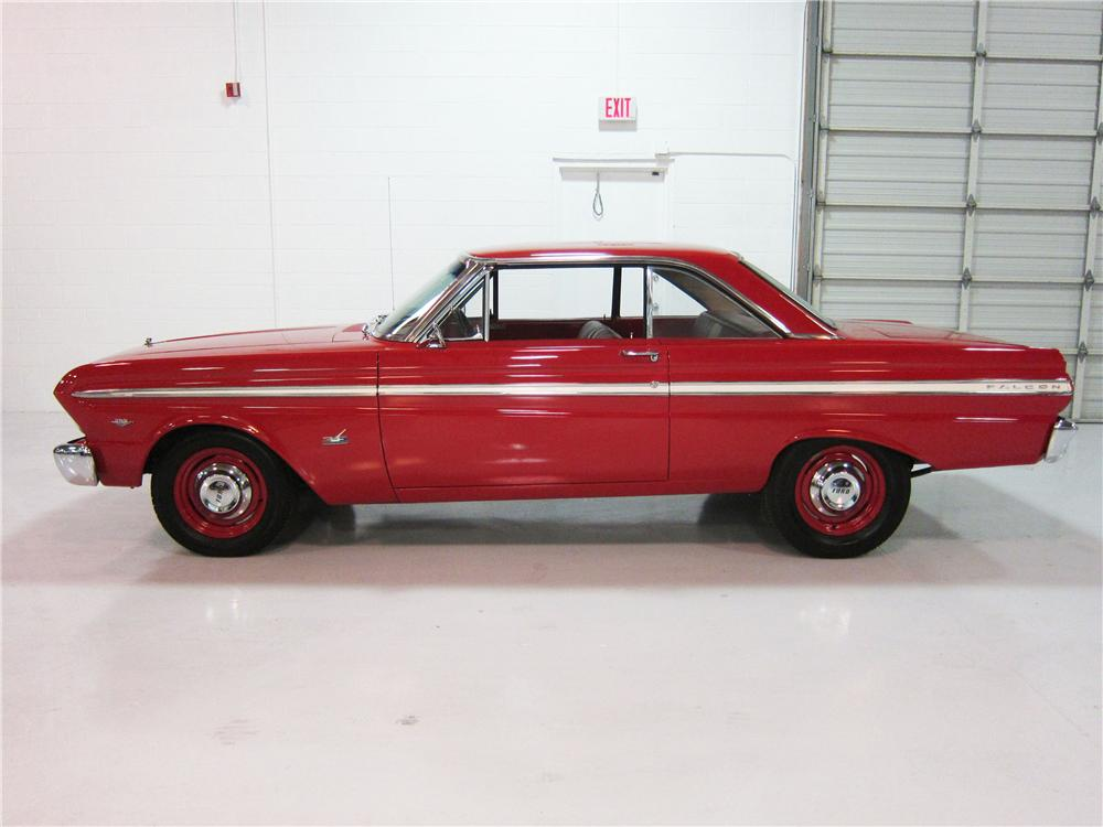 1965 FORD FALCON 2 DOOR COUPE - Side Profile - 162382