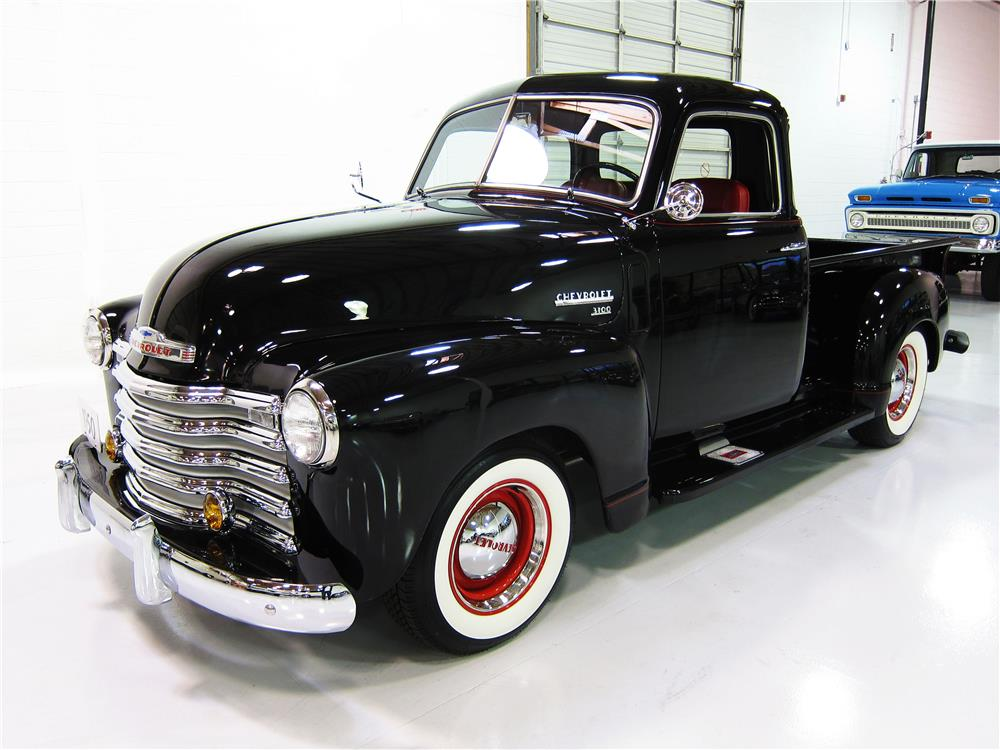 1950 CHEVROLET 3100 DELUXE CAB PICKUP - Front 3/4 - 162387