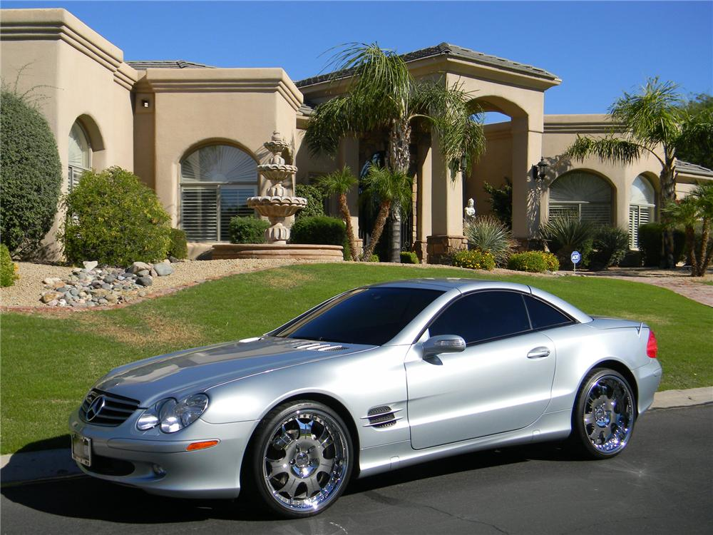 2005 MERCEDES-BENZ SL500 ROADSTER - Front 3/4 - 162388