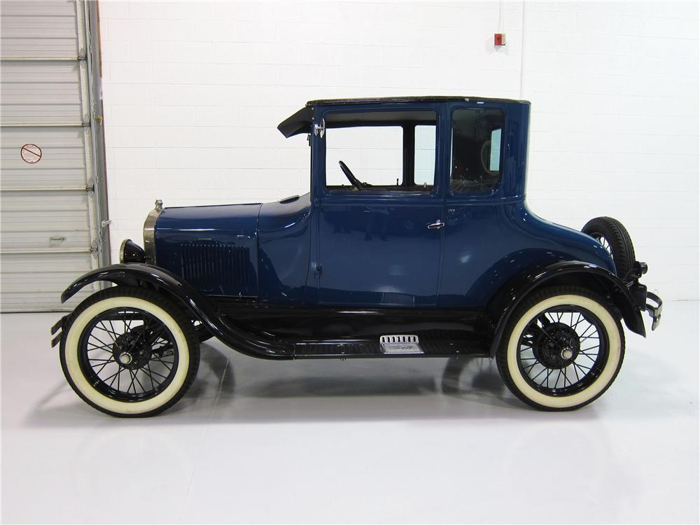1927 FORD MODEL T COUPE - Side Profile - 162394