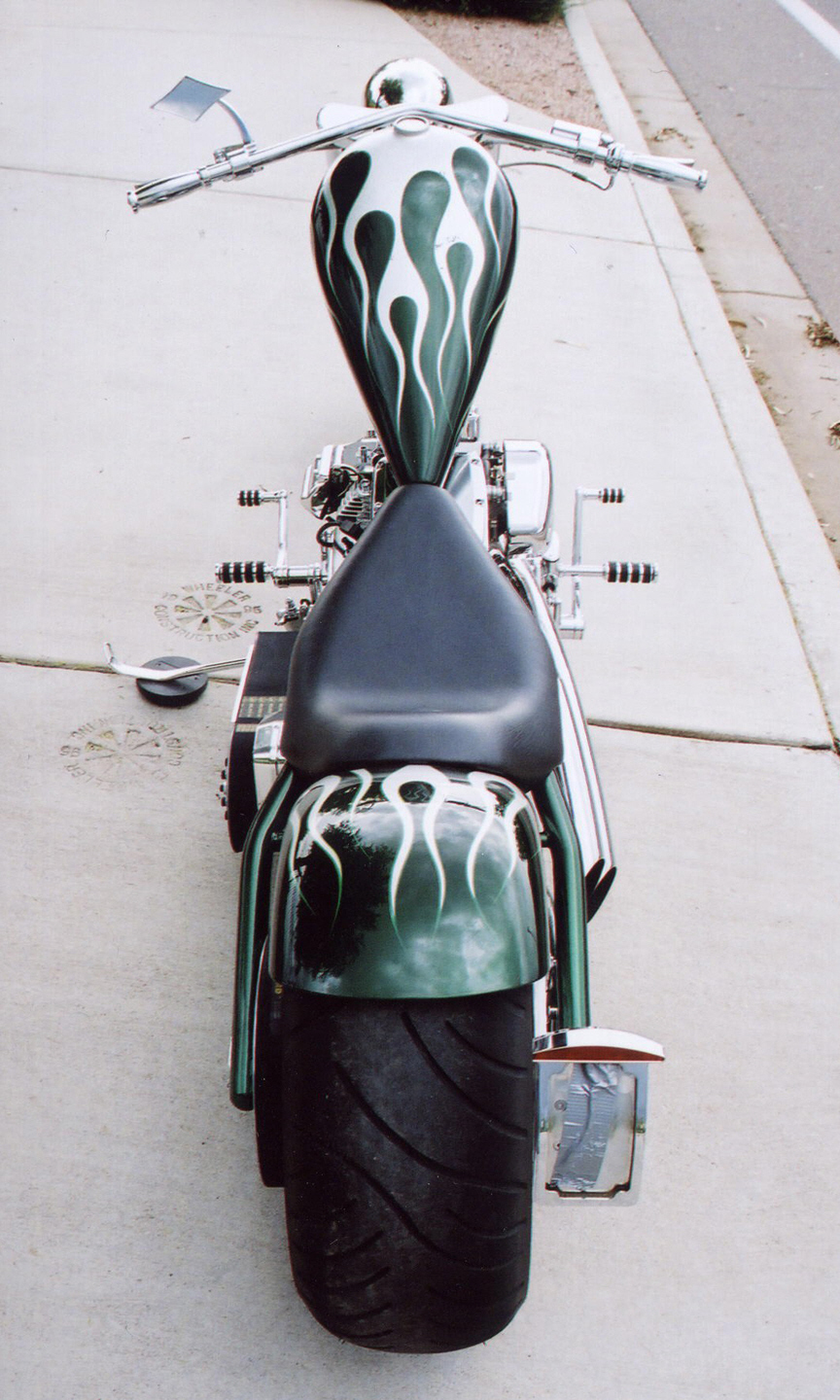 2005 AMP CUSTOM CHOPPER - Rear 3/4 - 16240