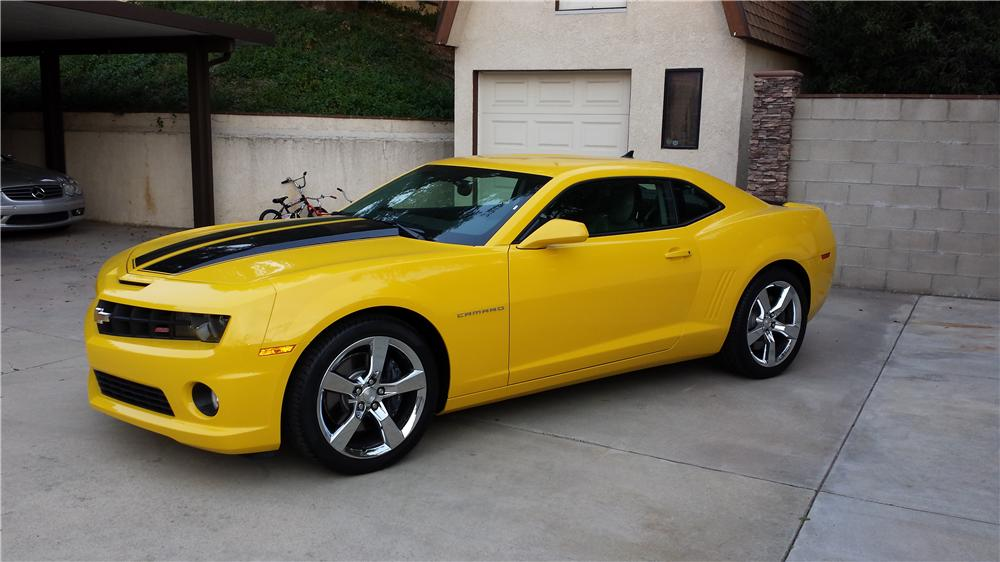 2010 CHEVROLET CAMARO SS 2 DOOR COUPE - Side Profile - 162402