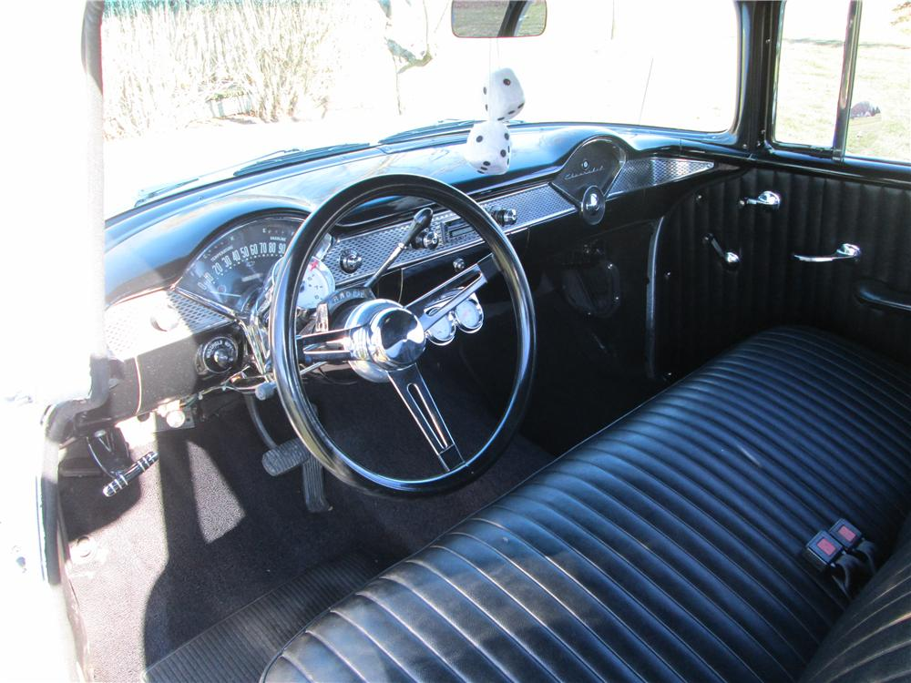 1955 CHEVROLET CUSTOM 2 DOOR SEDAN - Interior - 162407