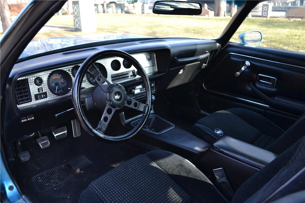 1979 PONTIAC FIREBIRD FORMULA 2 DOOR COUPE - Interior - 162410