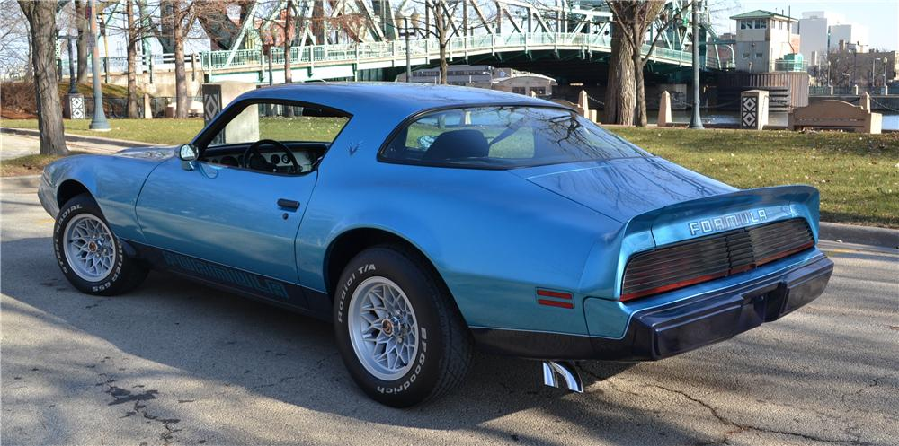 1979 PONTIAC FIREBIRD FORMULA 2 DOOR COUPE - Rear 3/4 - 162410