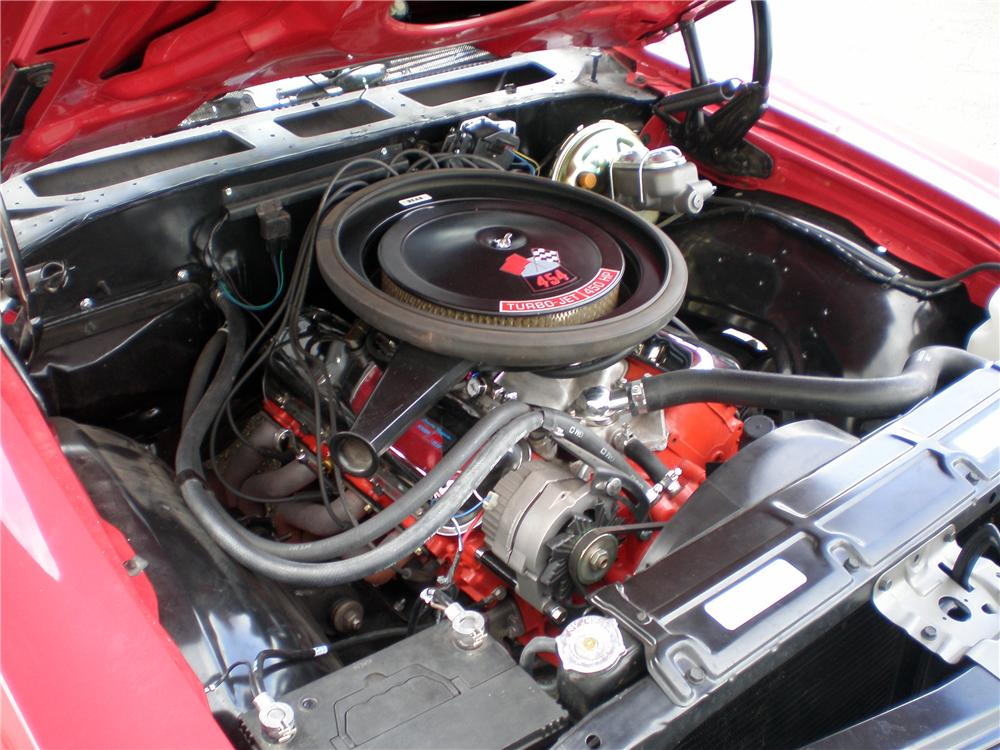 1970 CHEVROLET CHEVELLE SS CONVERTIBLE - Engine - 162421