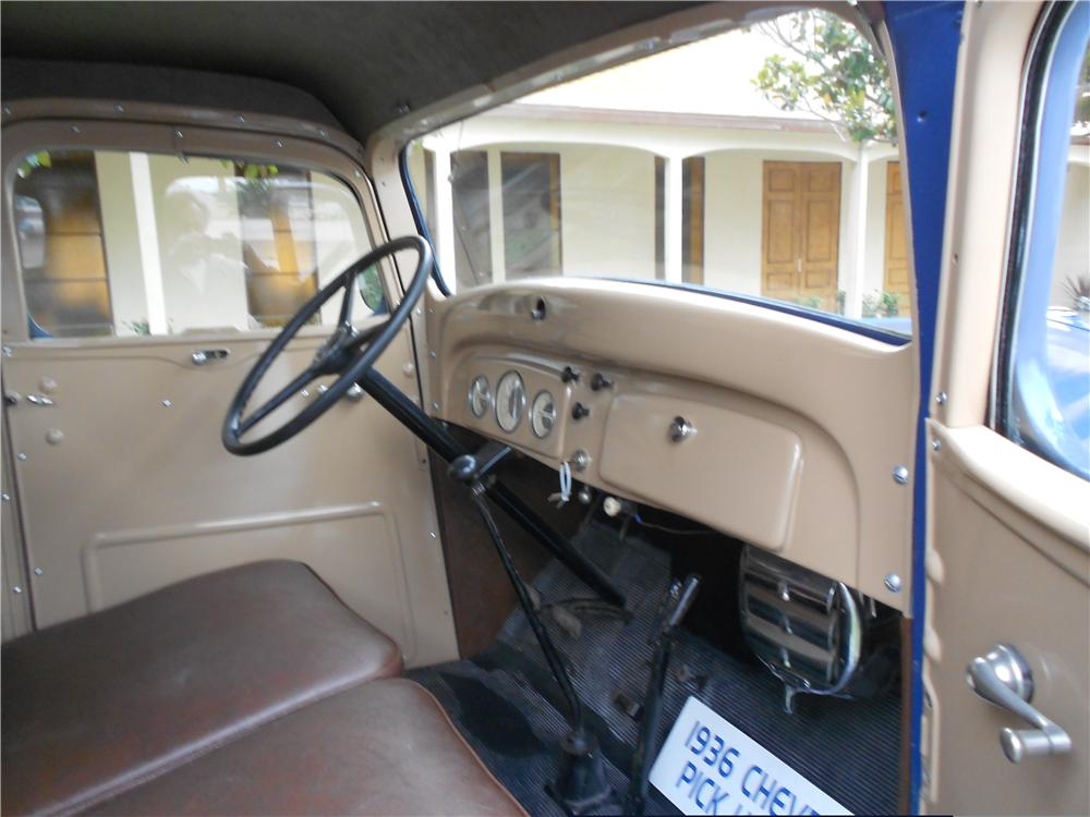 1936 CHEVROLET 3100 PICKUP - Interior - 162429
