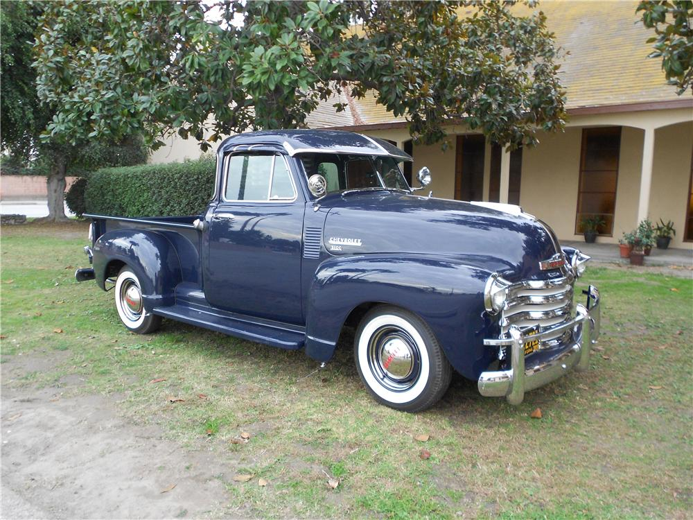 1952 chevrolet 5 window pickup 162432