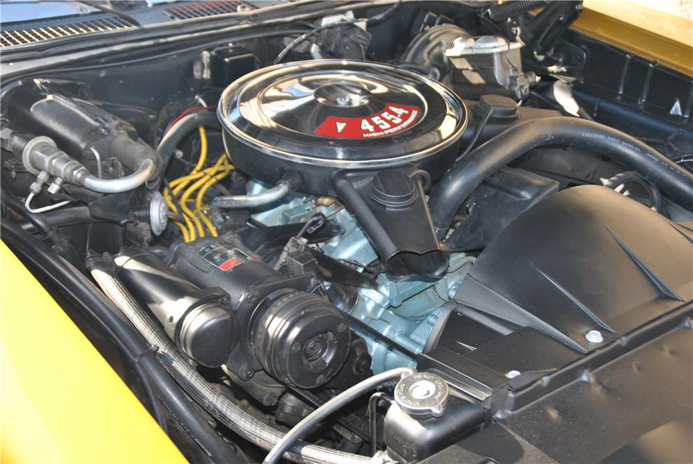 1970 PONTIAC GTO 2 DOOR COUPE - Engine - 162434