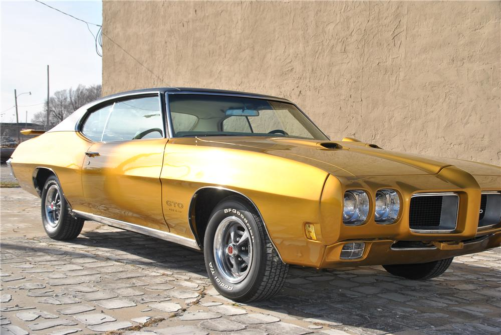 1970 PONTIAC GTO 2 DOOR COUPE - Front 3/4 - 162434