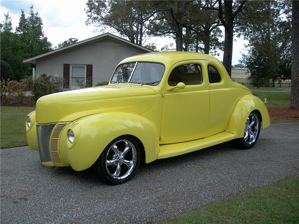 1940 ford deluxe custom 2 door coupe 162436 for 1940 ford two door sedan