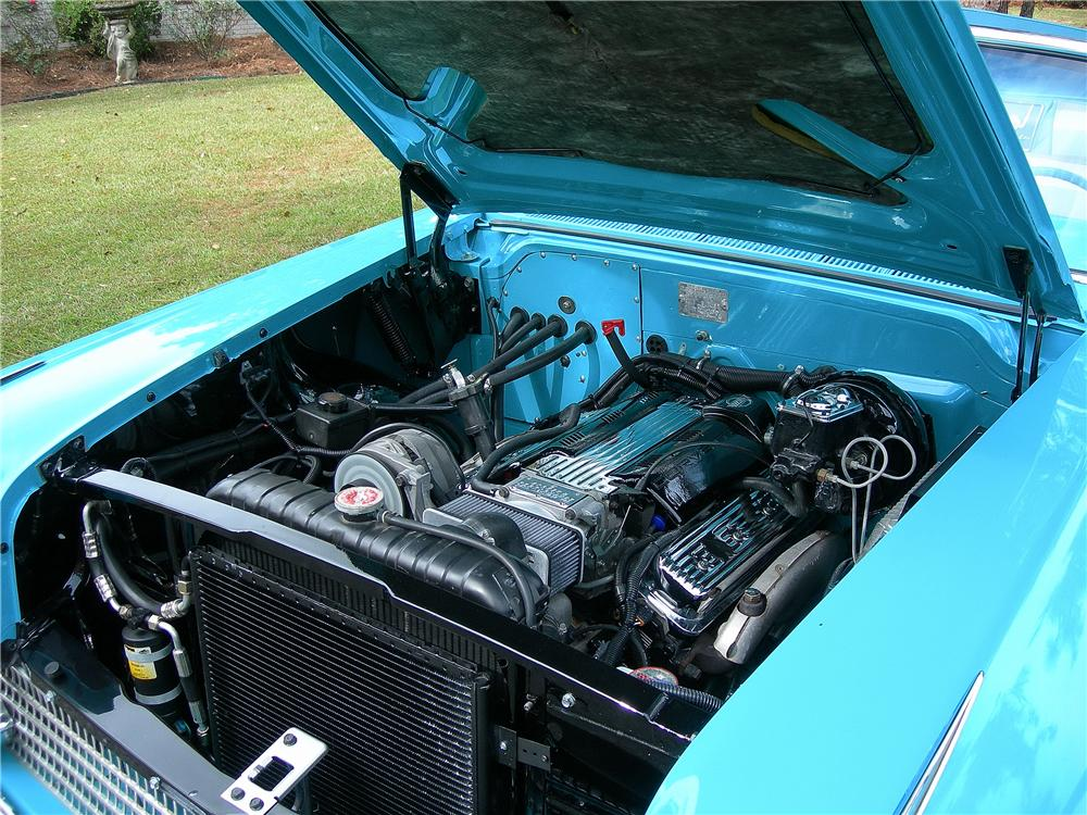 1958 CHEVROLET IMPALA CUSTOM CONVERTIBLE - Engine - 162441